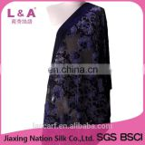 Classic burnt-out velvet scarves shawls factory customized for women