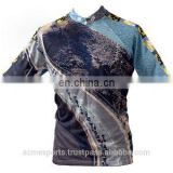 sublimation cycling shirts - half sleeve men's cycling shirt, custom half sleeve cycling jerseys