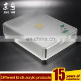 Hotel Supplies frosted pmma plexiglass acrylic box with drawer