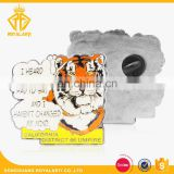 Custom Make Font Die Stamping Tiger Animal Pin Badge