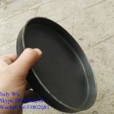High quality flat bottom flange dish head in carbon steel