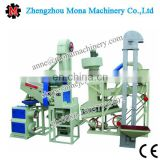 rice milling machine with iron roller/Automatic complete set rice milling machinery of rice husk ash