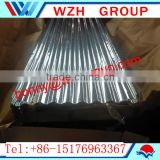 high quality curve corrugated steel sheet from china / 0.4mm thickness gauge color coated steel sheet in coil