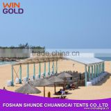 Luxury Strong Structures Beach Party Marquee Safari Tent For Outdoor Beach Event