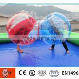 Inflatable Ball Person Inside Inflatable Ball Suit Soccer Ball
