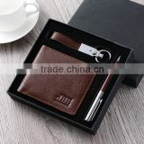 hot selling gift set keychain wallet ball pen                                                                                                         Supplier's Choice