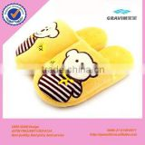 New Design plush house Shoes white indoor animal bear shaped slippers and shoes for kids