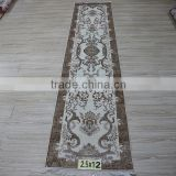 carpet fringe flower pattern hand knotted carpet for stairs