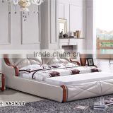 cheap modern bedroom leather furniture