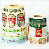 Customize size and sharp blank self adhesive labels in roll