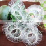 Disposable Pe Plastic Ear Cover For Spa / Shower / Hair Salon
