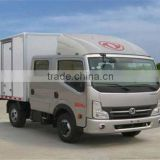 Factory price 4*2 double cab hight top Light Trucks, Cargo Truck for sale
