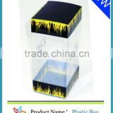 2013 Small cube waterproof black plastic packaging box