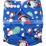 Merry Christmas new coming cheap christmas cloth diapers