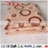 electric heated throw blanket for cold winter