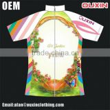 Low MOQ woman and man merino wool cycling jersey