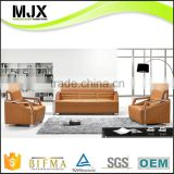 Customized high quality stainless steel sofa legs wooden frame boss furniture office sofa set leather PU sofa designs                                                                         Quality Choice