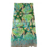 african wax prints fabric cheap african wax holland with guipure cord lace embroidery design