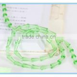 glass beads crystal custom logo beads