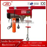 wide range application multifunctional pure copper motor 100-1000KG PA Type Micro Electric Wire Rope Hoist