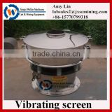 new designed vibrating shaking screen for copper powder separation