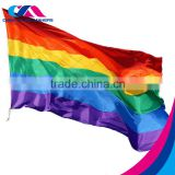 top quality custom rainbow flag printer