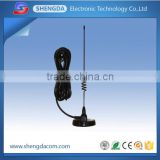 824-896 or 890-960MHz GSM/CDMA dual band pcb omni directional magnetic base mount antenna with RG-58U cable
