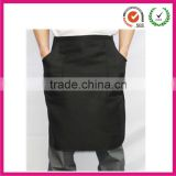 Basic black short polyester workshop waist aprons                                                                         Quality Choice