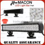 20 Inch 126W led automotive lighting led grow light bar mounting brackets on the bottom