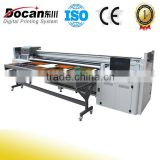 Wide format Pvc stretch ceilling flex banner printer /uv hybrid printer/uv roll to roll printer