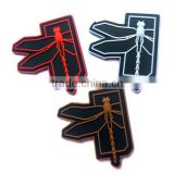 Dragonfly Logo Military Tactical Morale 3D PVC Patch Badges Rubber Patch Morale Military Armband Tactical Patches