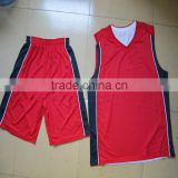 custom red basketball jerseys red color