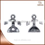 Zinc Alloy Wholesales Telephone charm pendant in antique silver16x15mm for handcraft bracelet necklace