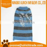 M101100% acrylic cute knitted dog clothes bulk