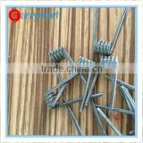 Born for Huge vapor 10PCS/Box Pre-built Alien clapton coil staple staggered fused clapton