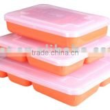 Plastic Lunch Box Meal Tray