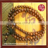 6mm Red Sandalwood Beaded Bracelet 108 Beads Male and Female
