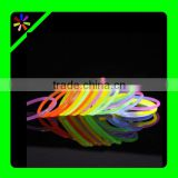 light stick glow bracelet,glow stick with custom logo prining for concert&party&bars