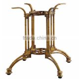 hot! bamboo table leg / aluminum antique table leg / KD structure table leg