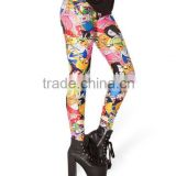 Wholesale 3d digital Print Patterned leggings Black Milk fashion women leggings