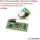 433Mhz RF link kit RF transimitter and reciever module