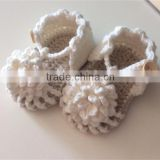 Neutral Color girl and boy Crochet Simply Summer Sandals