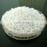 white granular calcium magnesium nitrate fertilizer