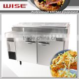 WISE Countertop Pizza Prep Table Refrigerator Hotel Equipment