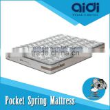 Healthy Natural Coconut Palm Fiber Bamboo Carbon Pocket Spring Queen Size Airland Mattress