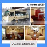 7 meter long luxury design VIP business bus coach motorhome recreational vehicle made in xiamen china