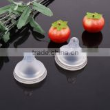 Wide caliber food-grade Silicone Baby Pacifier safe real sense wide mouth bionic matte nipples wholesale