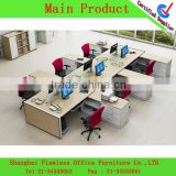 High quality mordern design desk base office metal frame table call center cubicle office workstation