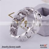 African Rhodium Plated Women Bangles