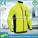 new yellow waterproof motorcycle airbag jacket